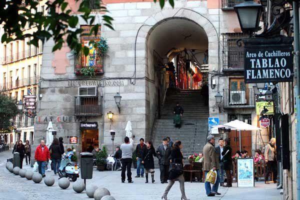 Arco de Cuchilleros - Plaza Mayor de Madrid