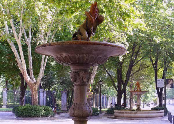 Dos de las cuatro fuentes llamadas Las Fuentecillas.