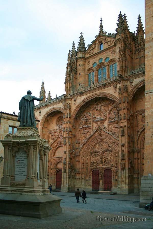 Pórtico de la Catedral de Salamanca