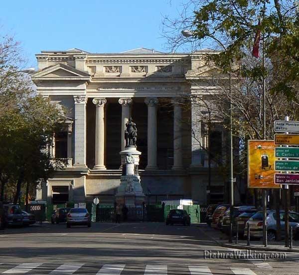 Casón del Buen Retiro, is part of the Prado Museum