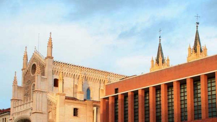 Parroquia San Jerónimo el Real y el Cubo de Moneo ampliación del Museo del Prado