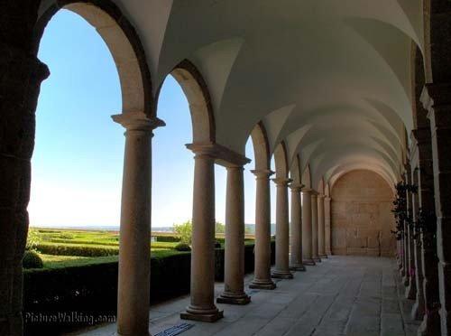 Arcos en el lado sur de El Escorial
