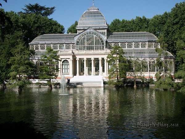 Crystal Palace on the Retiro Park