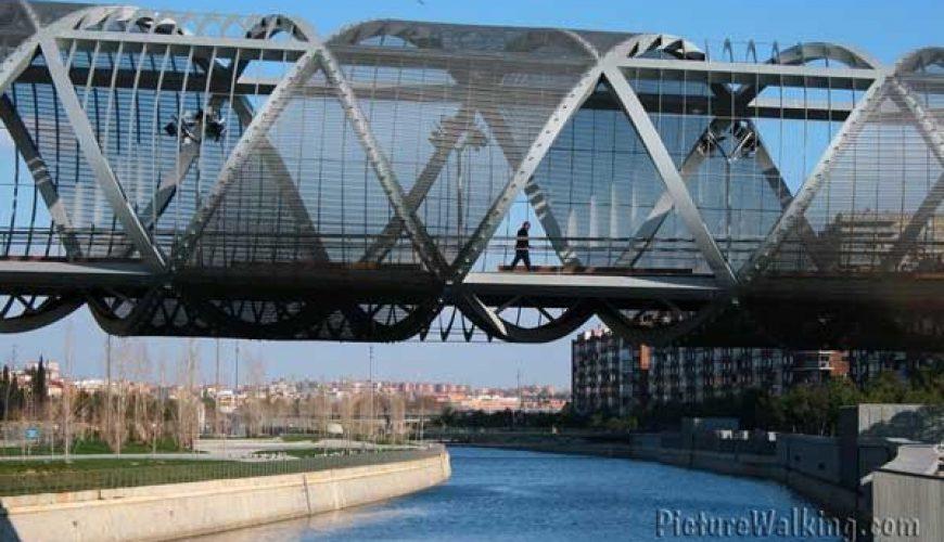 Puente Arganzuela sobre el Río Manzanares