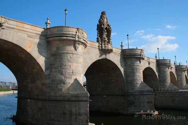 Puente de Toledo, sobre el Río Manzanares