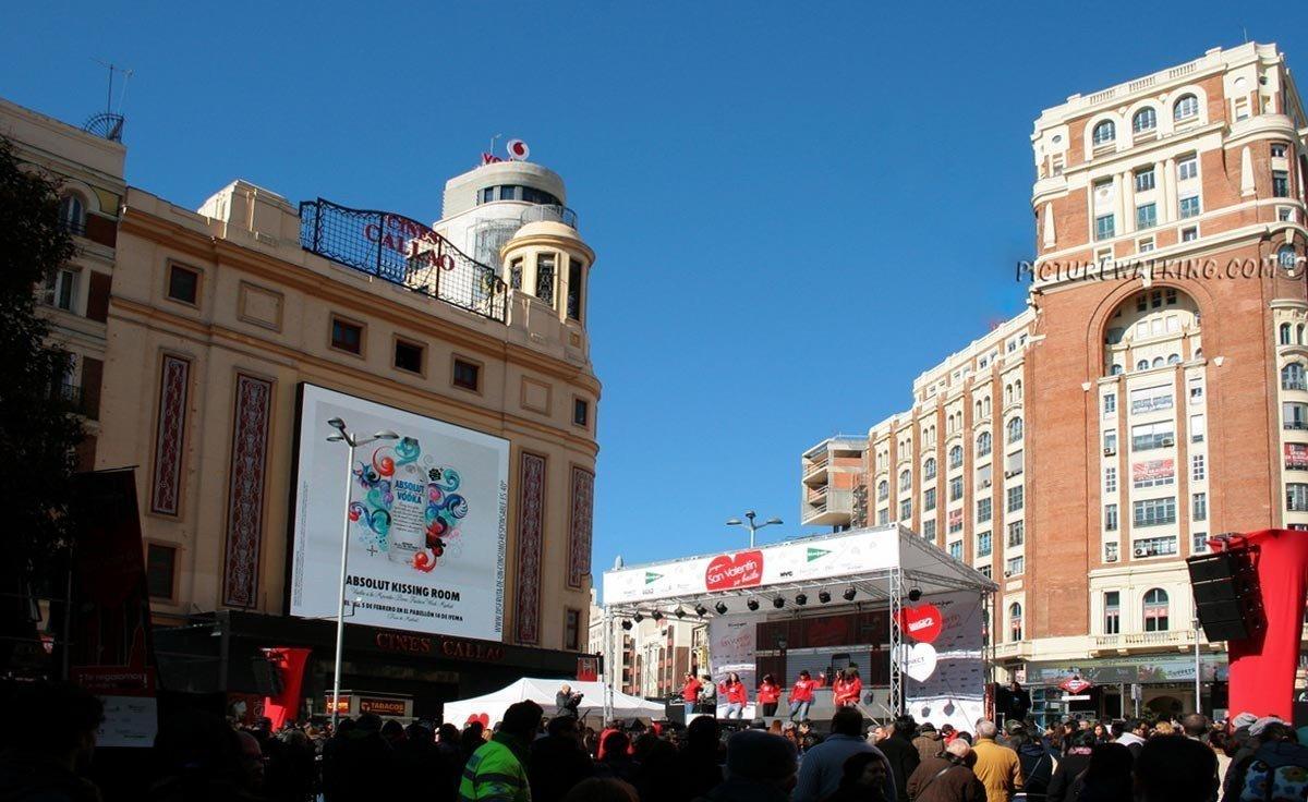 Evento Musical en Plaza de Callao