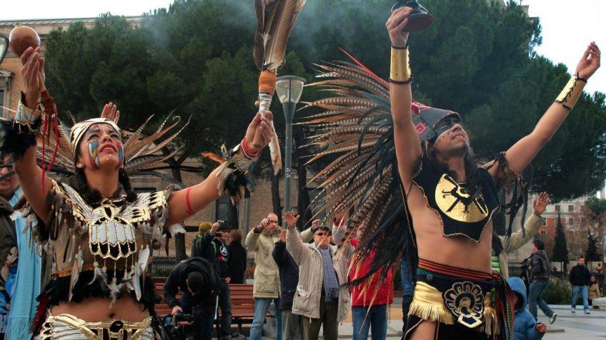 Ceremonia del fin del Calendario Maya e inicio de una nueva Era.