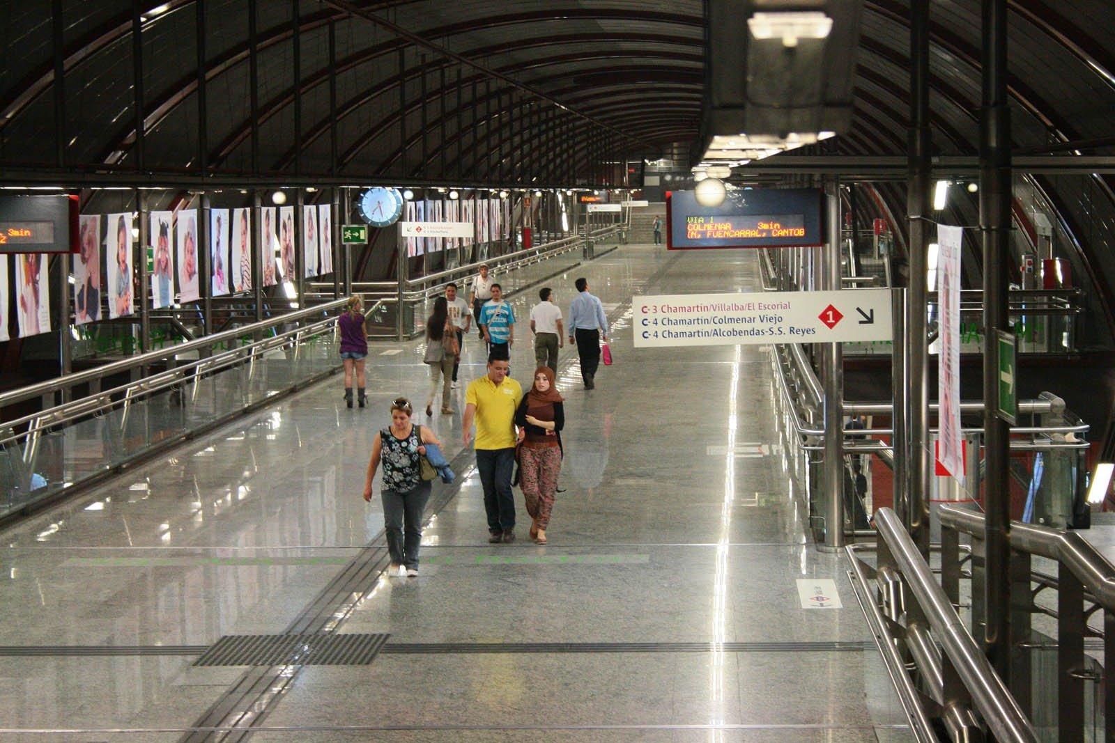 Estación de Cercanías en Sol