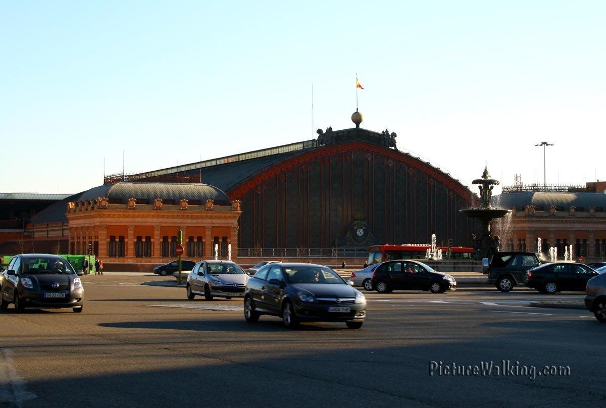 Atocha Station - Emperor Charles V Plaza