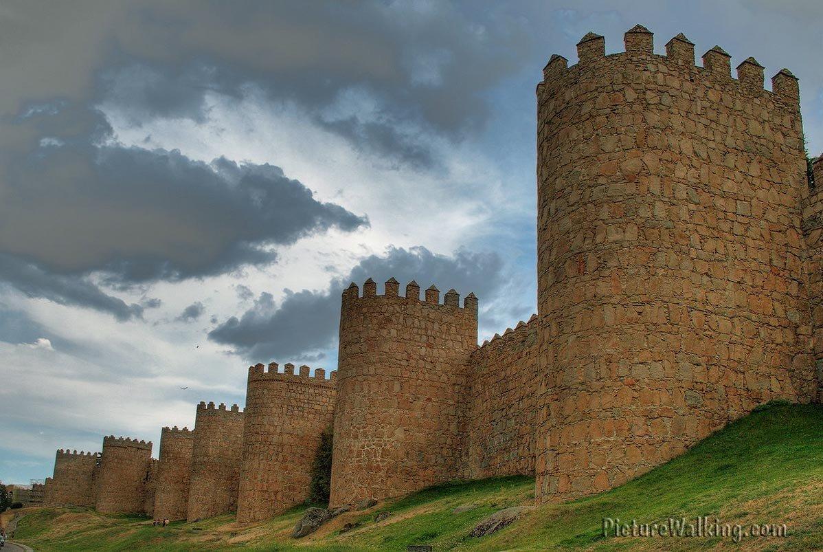 Lienzo Norte de la Muralla de Avila