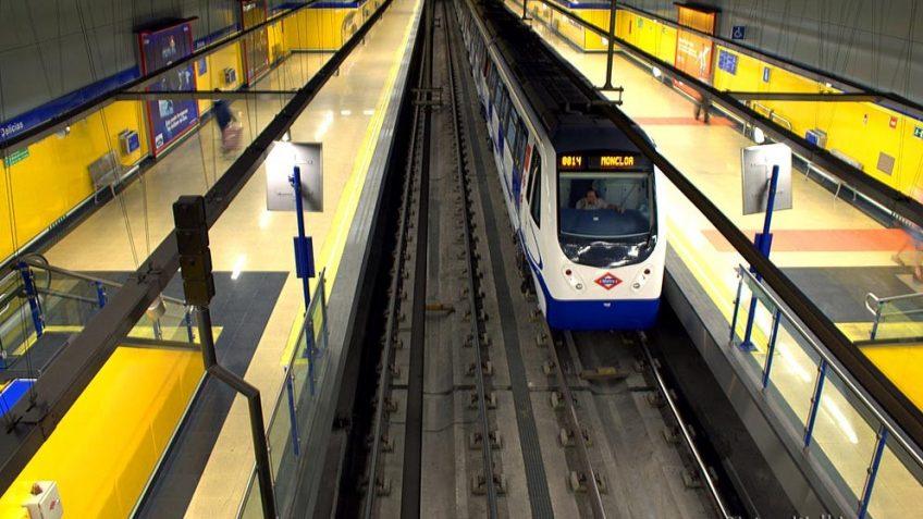 Estación de Metro de Delicias, Madrid