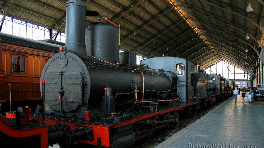 Locomotora a Vapor El Cinca