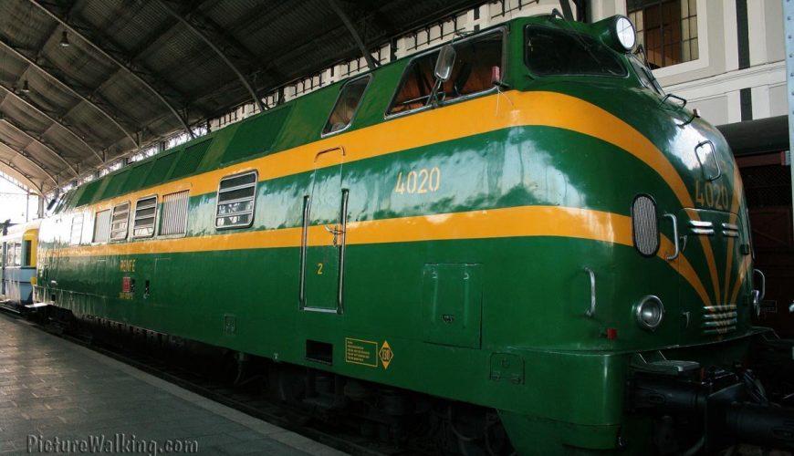 Locomotora Diesel 4020 Krauss Maffei Babcock-Wilcox Museo del Ferrocarril