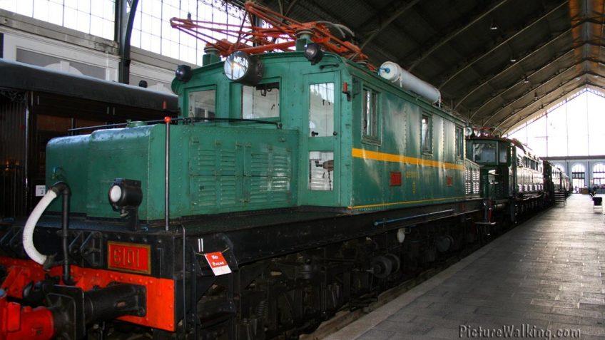 Locomotora Electrica 6101 - Museo del Ferrocarril de Madrid