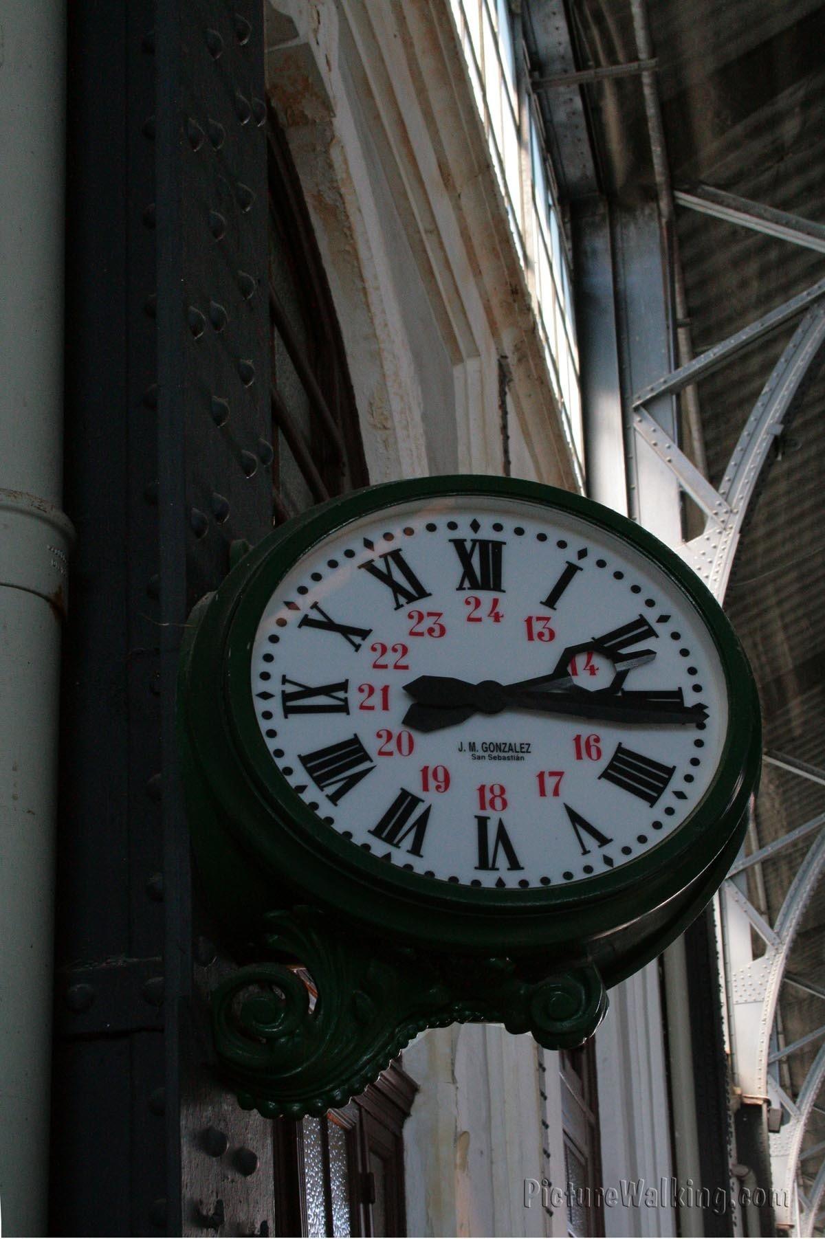 Reloj de la Estacion de Ferrocarril de las Delicias