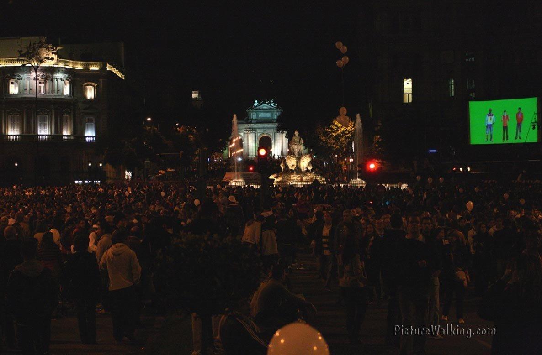 Toma de La Cibeles y Puerta de Alcalá
