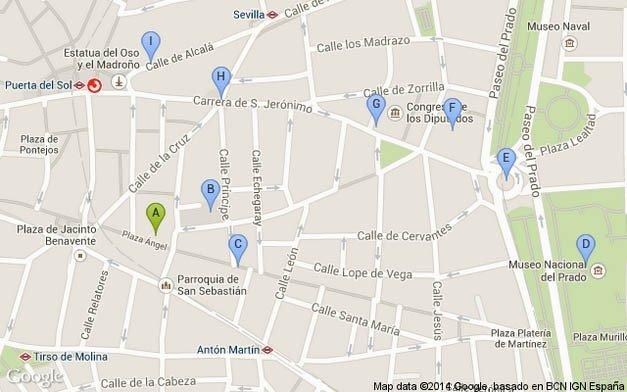 Madrid Walking Tour 5