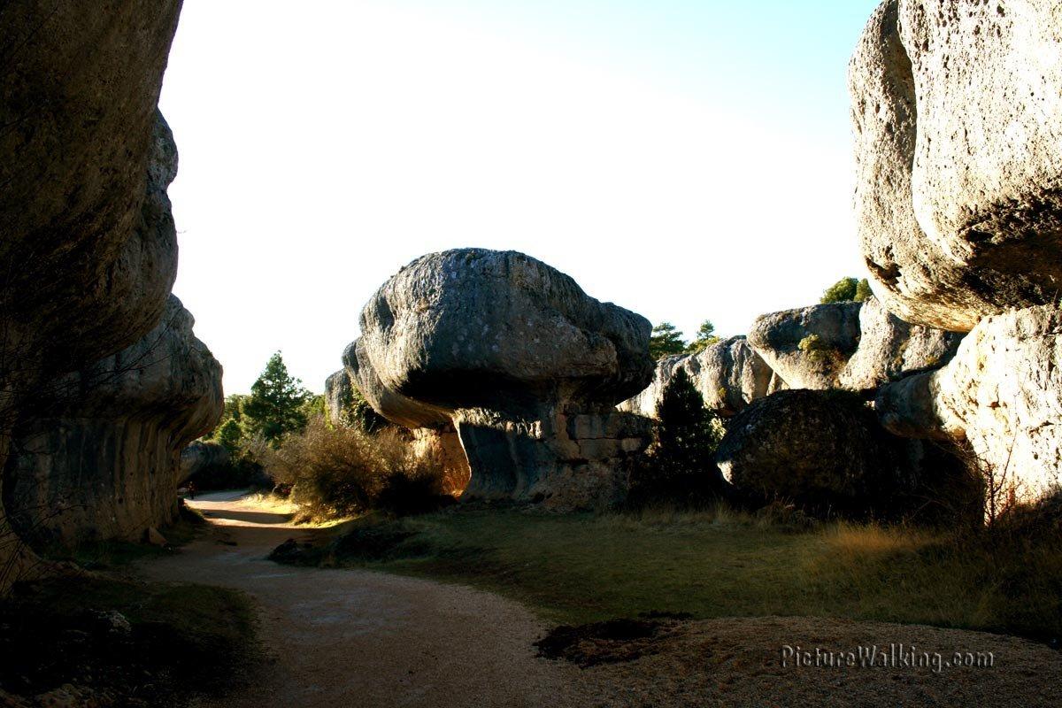 Ciudad Encantada, sitio geológico cerca de Cuenca