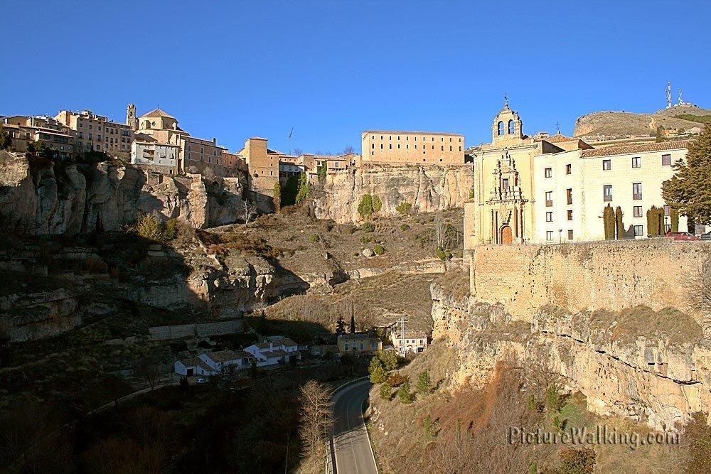 Cuenca Seen From The San Pablo Bridge