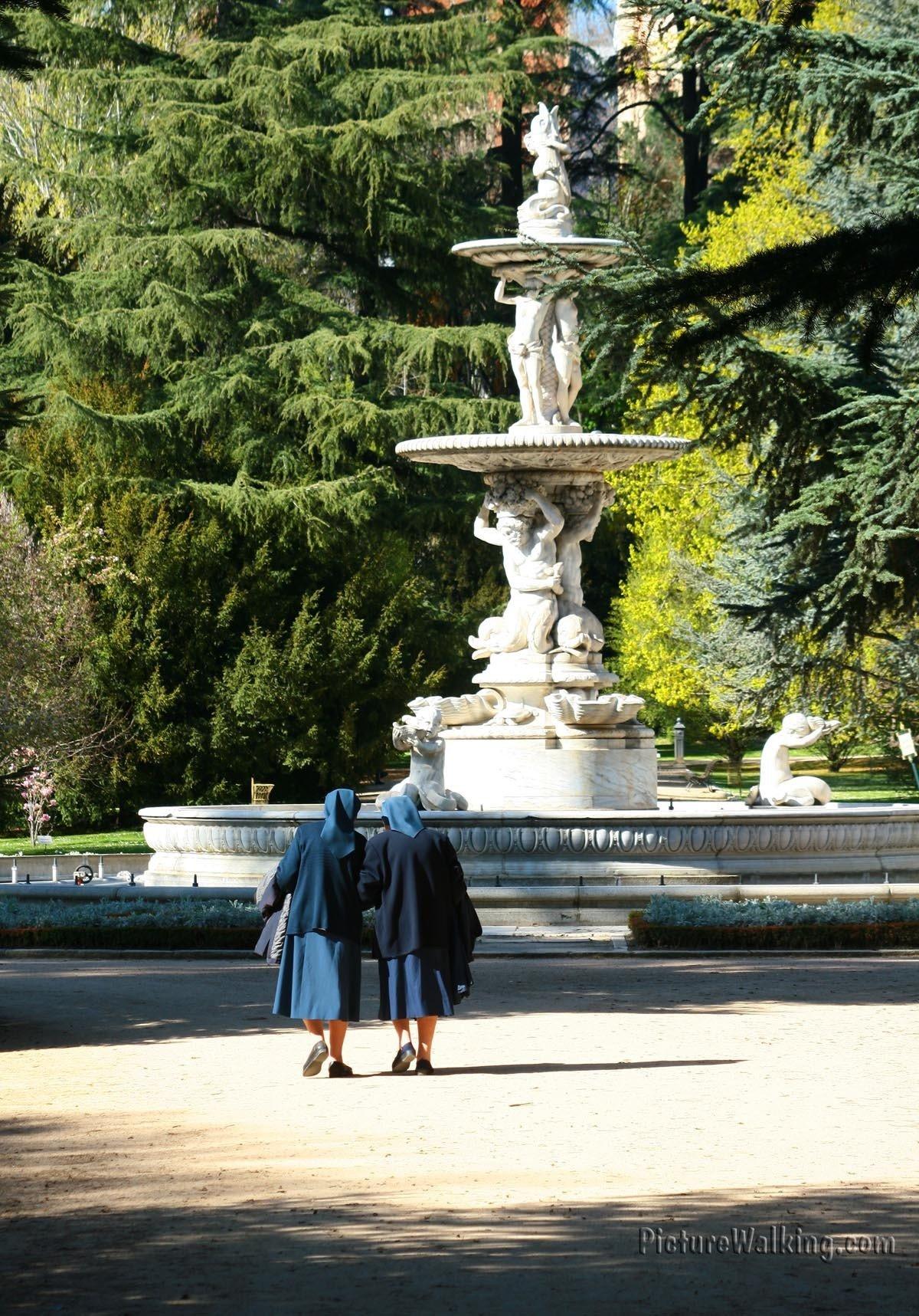 Campo del Moro de Madrid