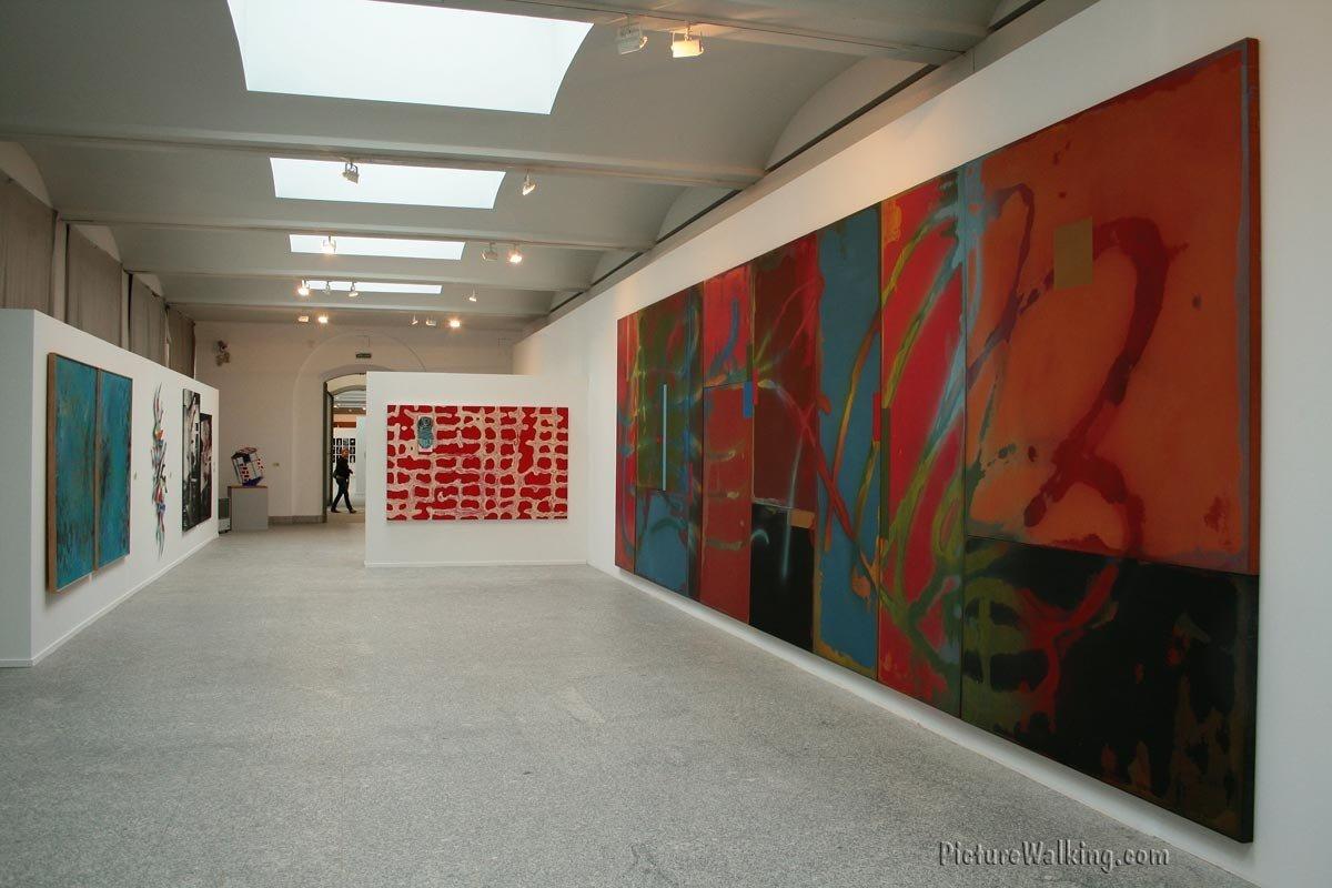 Una de las Salas de la exhibición.