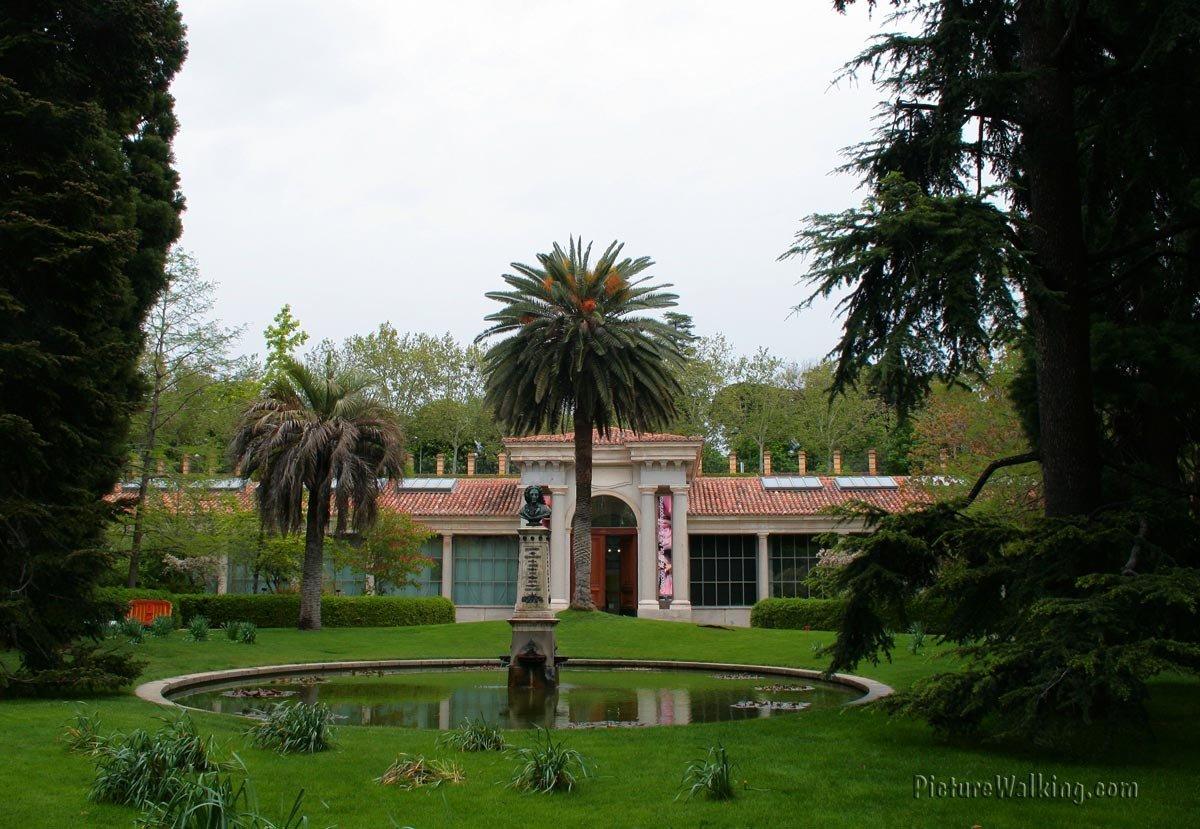 Pabellon Juan de Villanueva - Real Jardín Botánico de Madrid