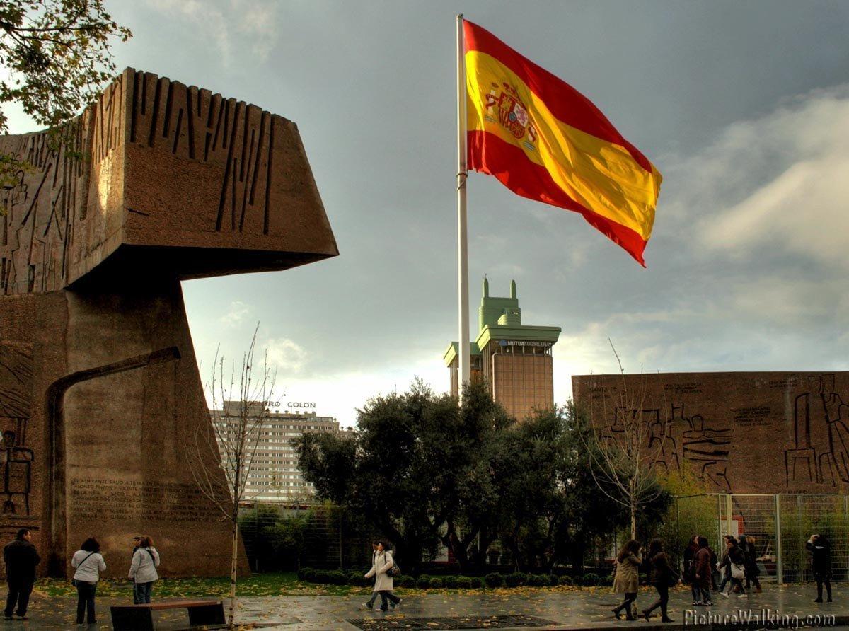 Monumento al Descubrimiento de América, Plaza Colón