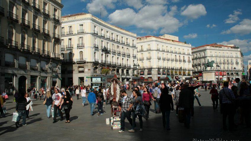 Plaza Puerta del Sol de Madrid