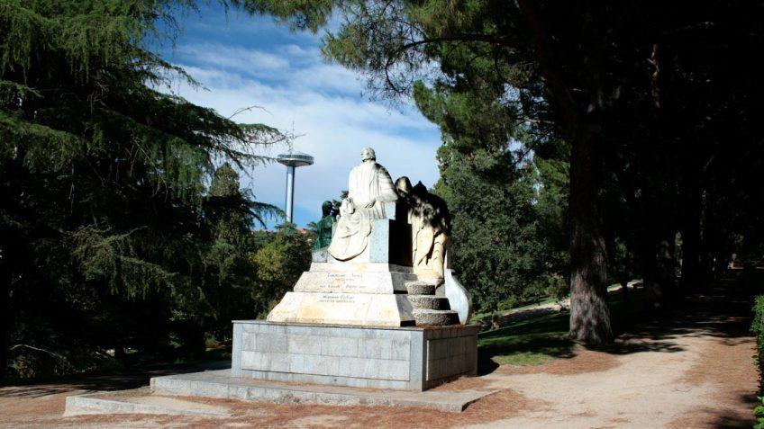 Monumento a Concepción Arenal, Parque del Oeste