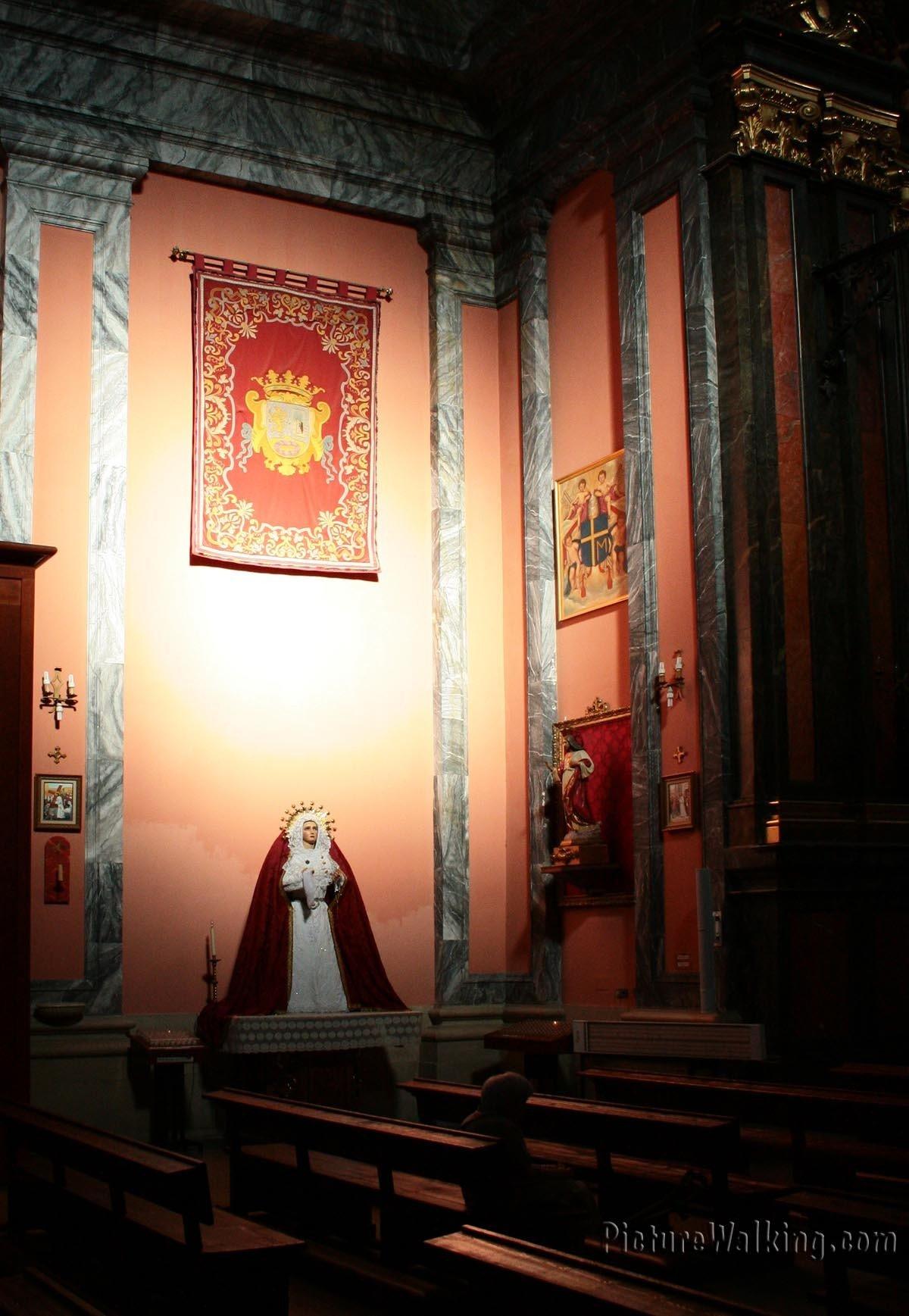 Virgen en la Iglesia de San Andrés