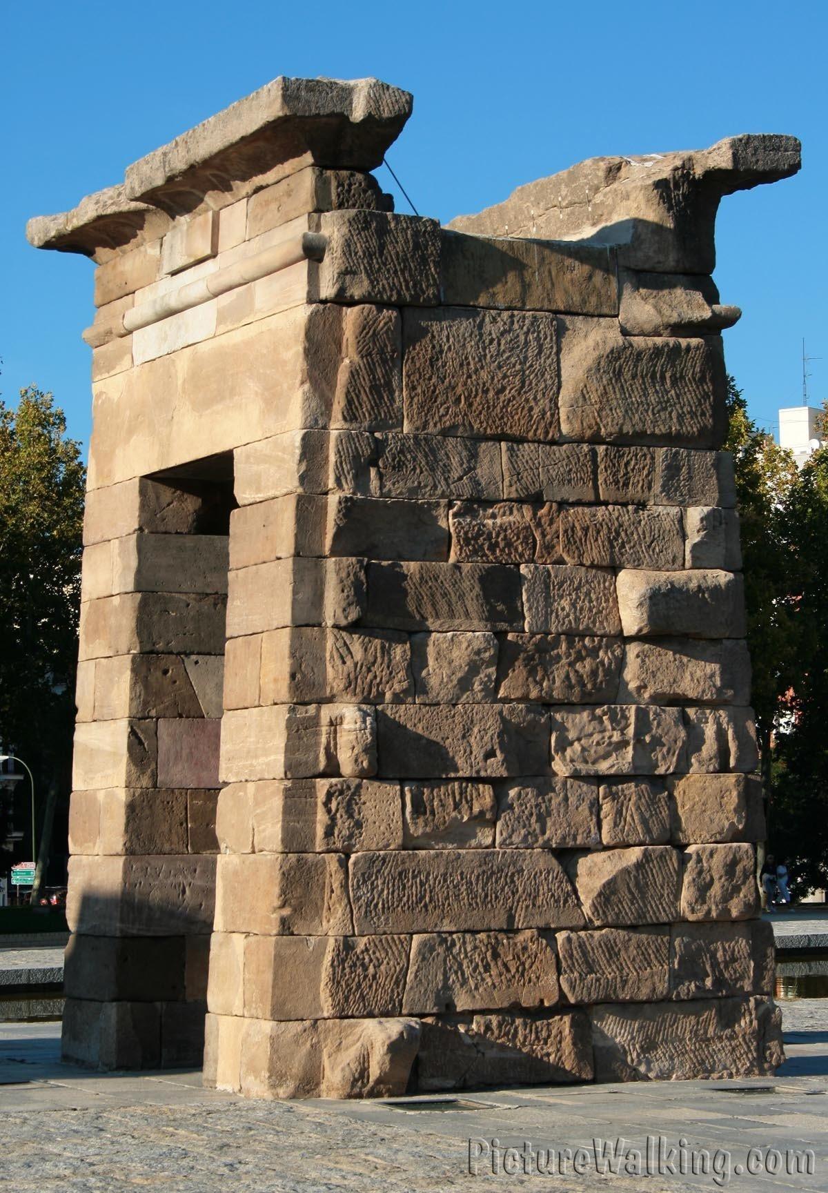 Pilonos del Templo de Debod