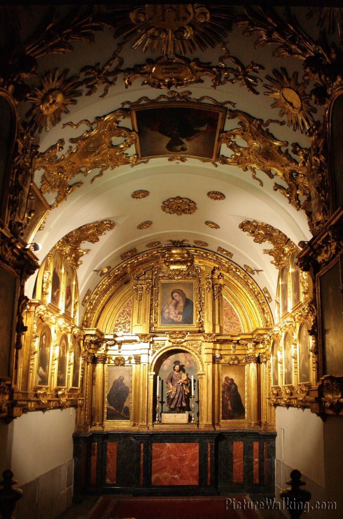 Capilla de San José en La Colegiata de San Isidro