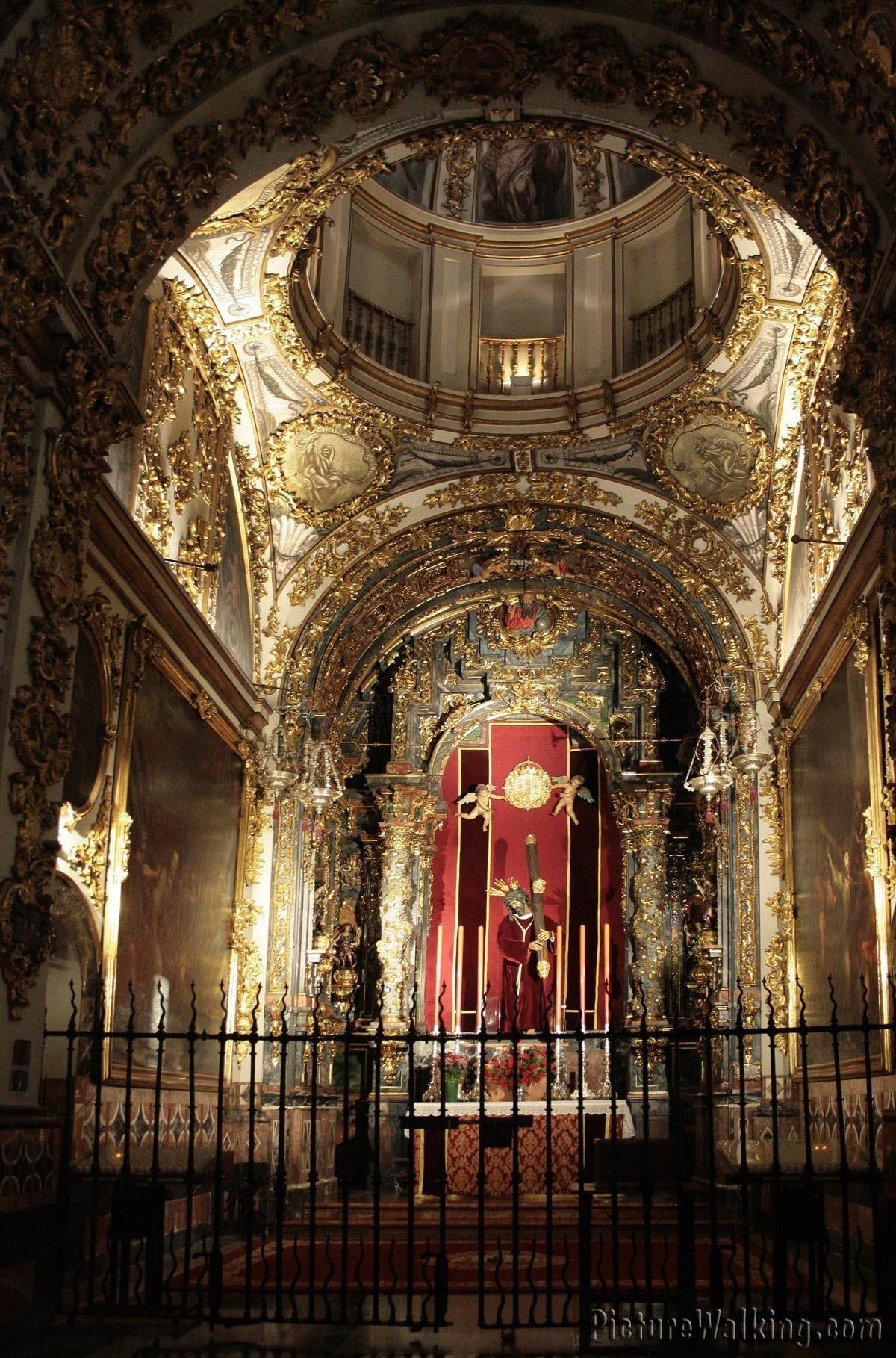 """Chapel of """"Jesus del Gran Poder""""."""