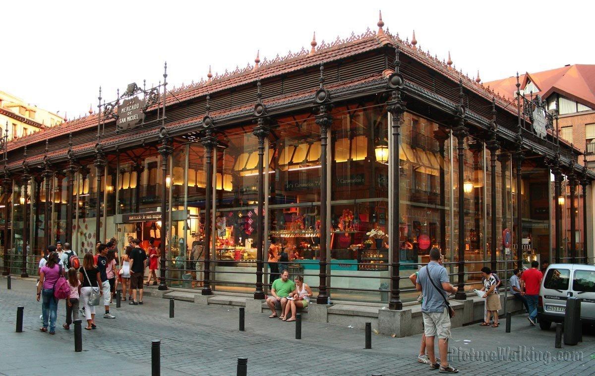 Fachada Norte del Mercado San Miguel