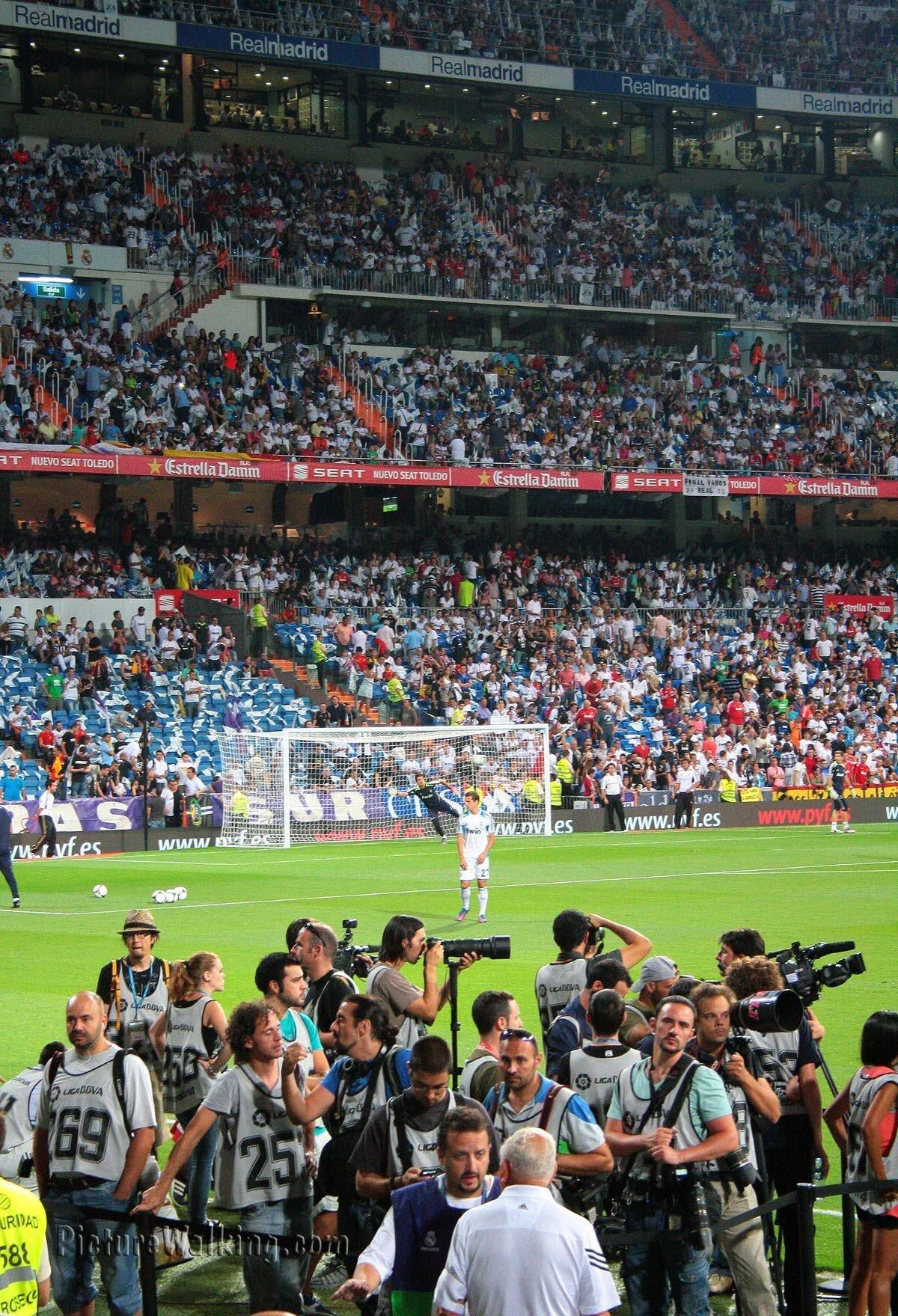 Estadio Santiago Bernabeu Super Copa 2012
