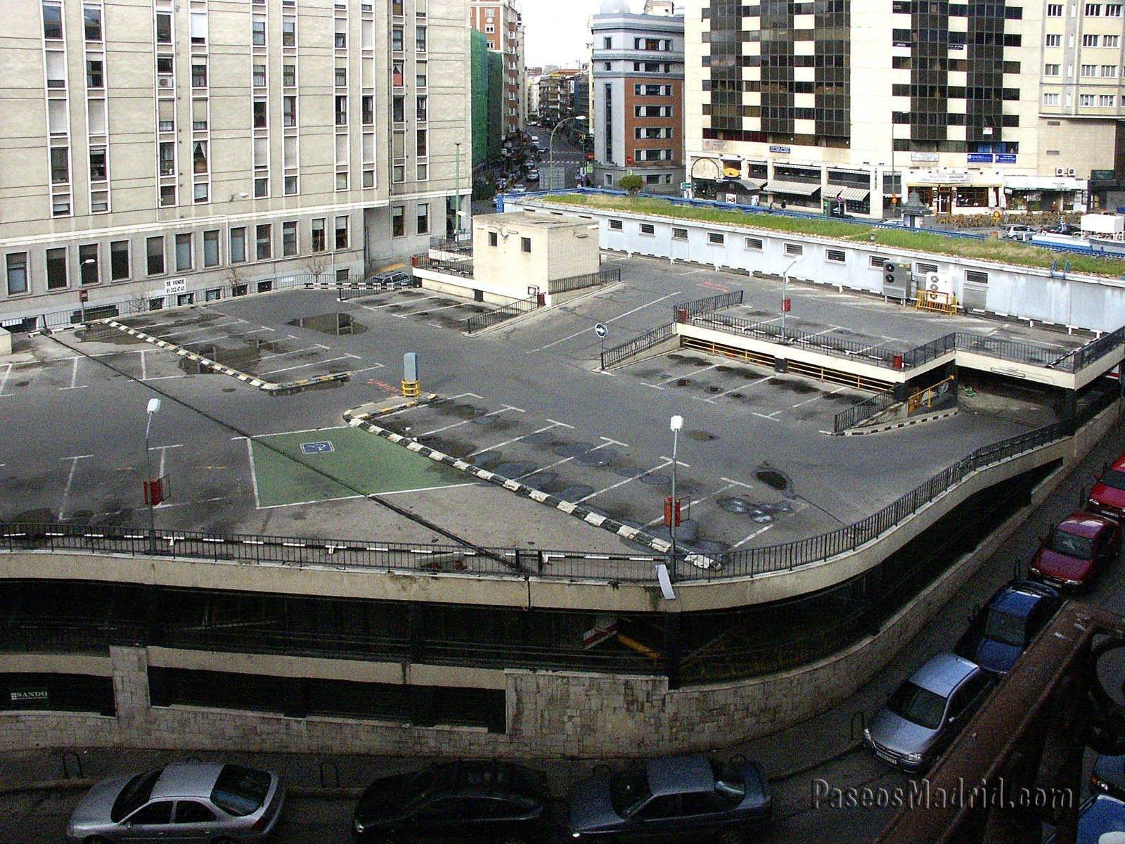 Antiguo Parking de la Plaza Santo Domingo, Antes de la Obra