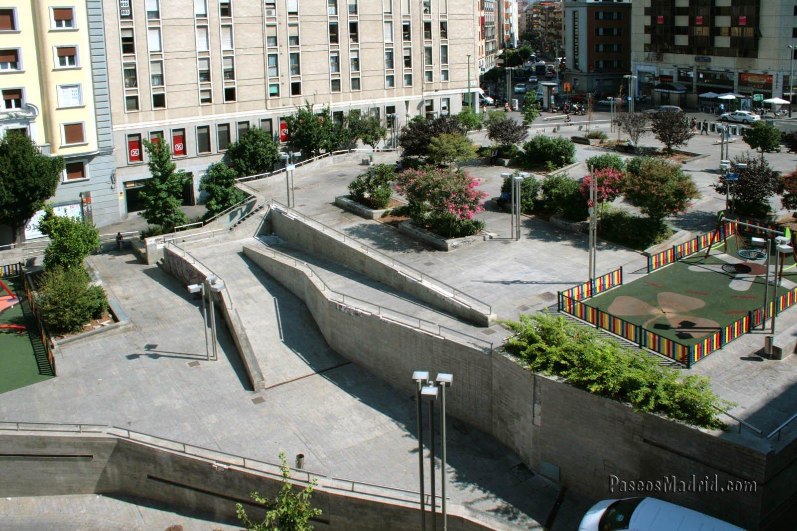 Plaza Santo Domingo Rampa.