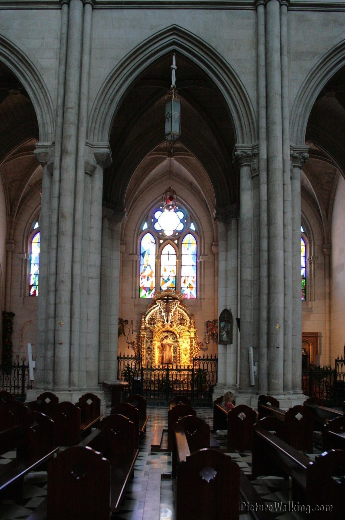 Arcos del interior de la Catedral