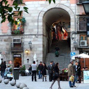 Arco de Cuchilleros - Plaza Mayor