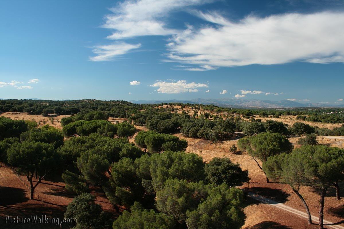 Casa de Campo vista al Norte.