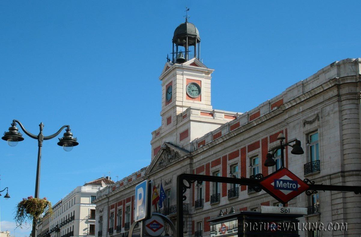 Puerta del Sol, Clock Tower