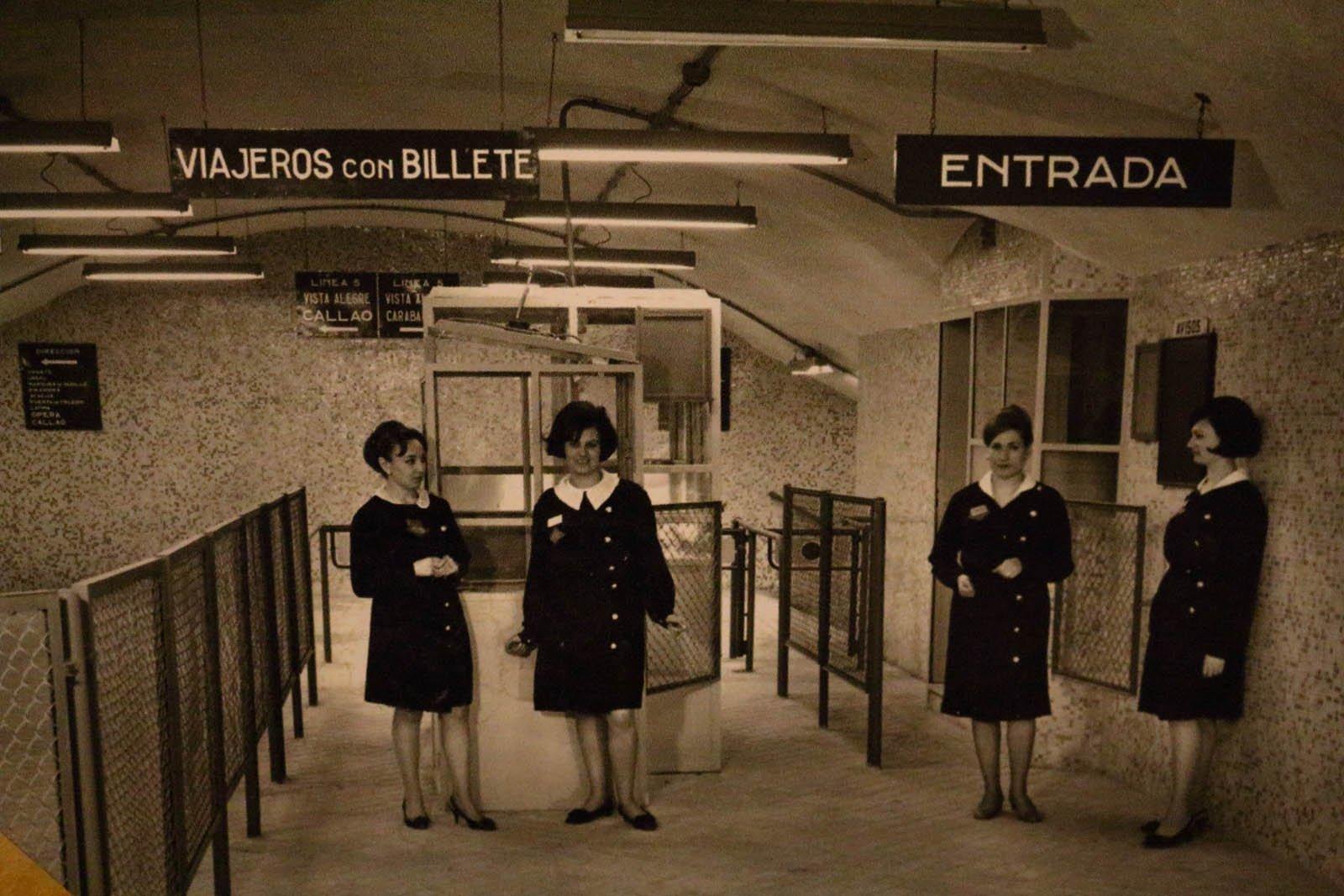 Empleadas del Metro de Madrid