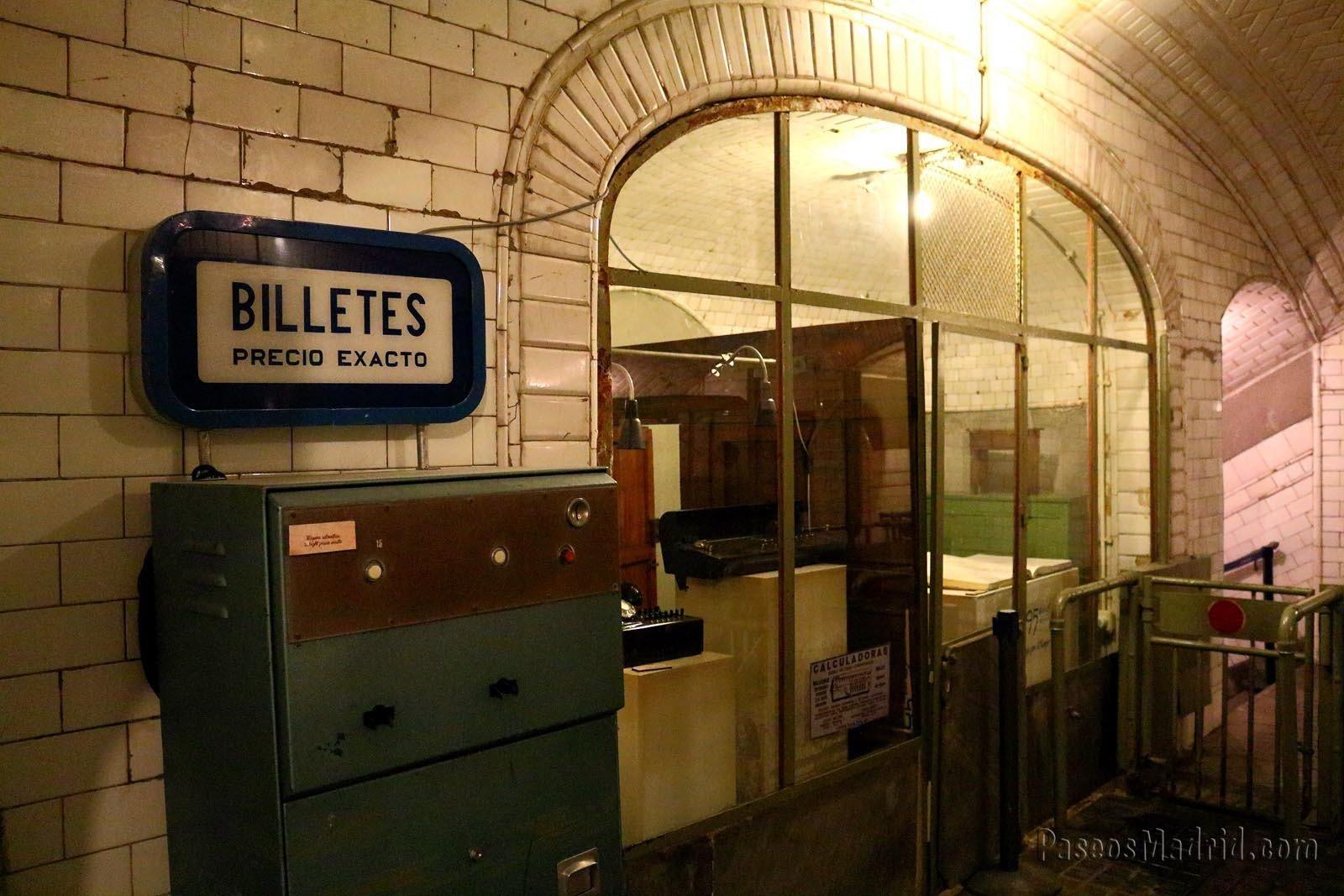 Oficina de la estación de Chamberí