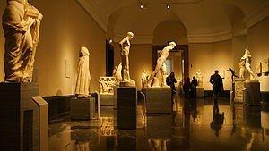 English: Interior of the Prado Museum in Madri...