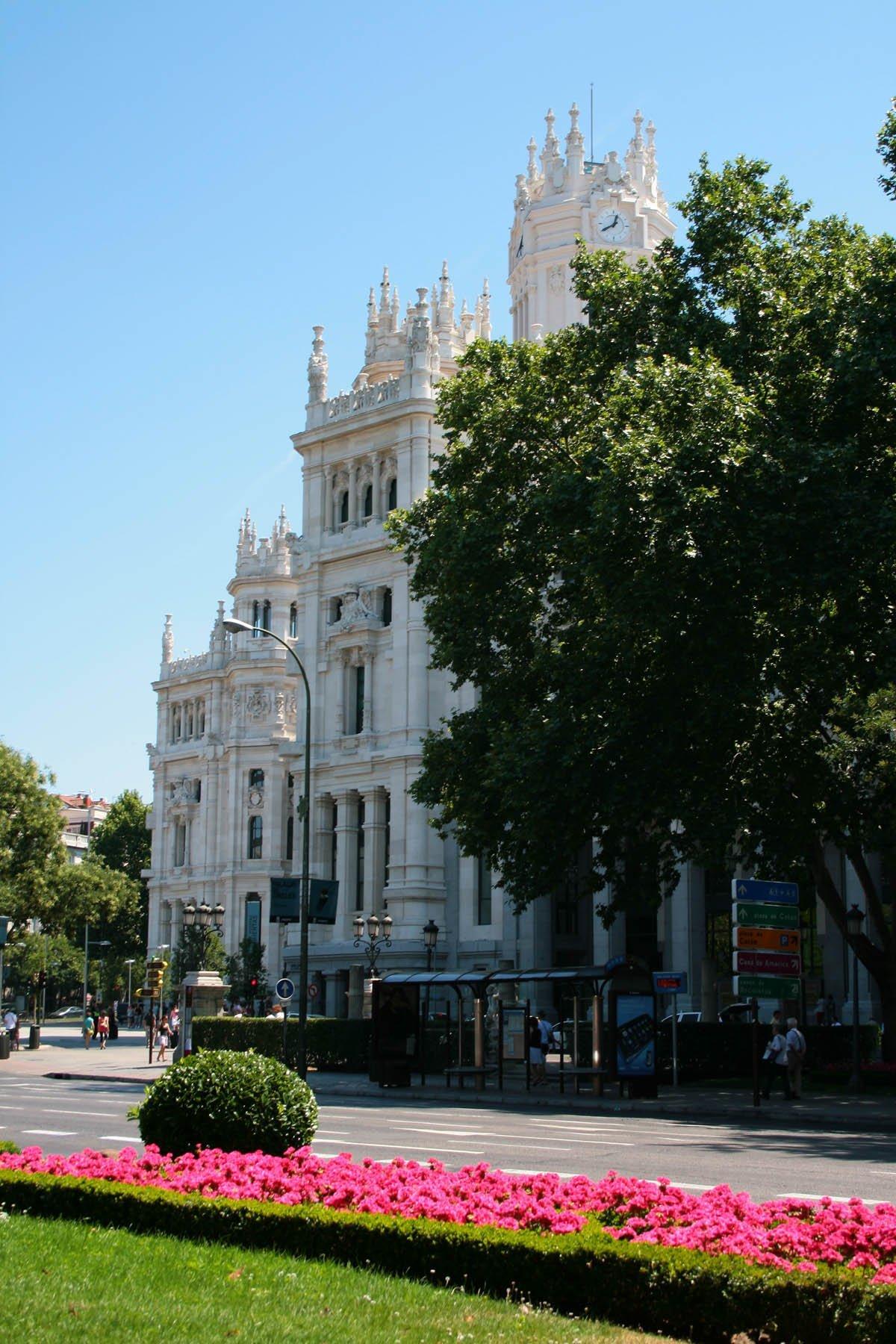 Palacio Telecomunicaciones . Paseo del Prado