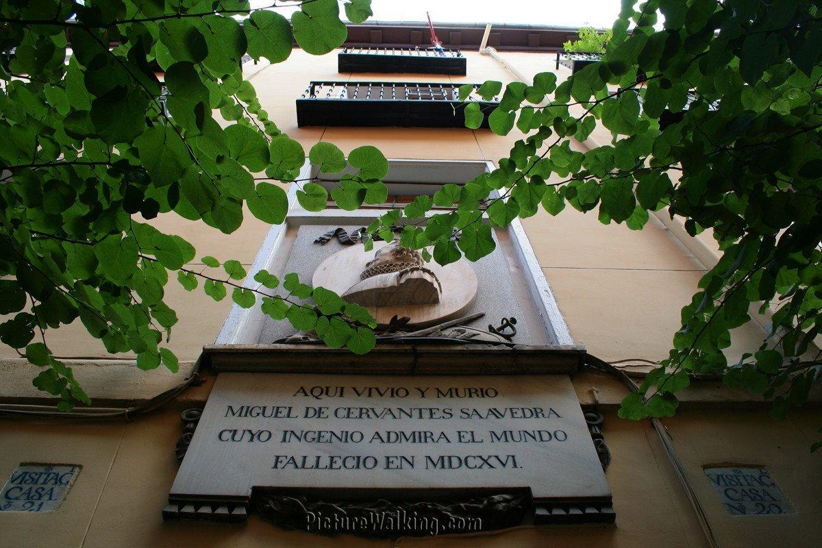 Vivienda donde vivió y murió Miguel de Cervantes Saavedra