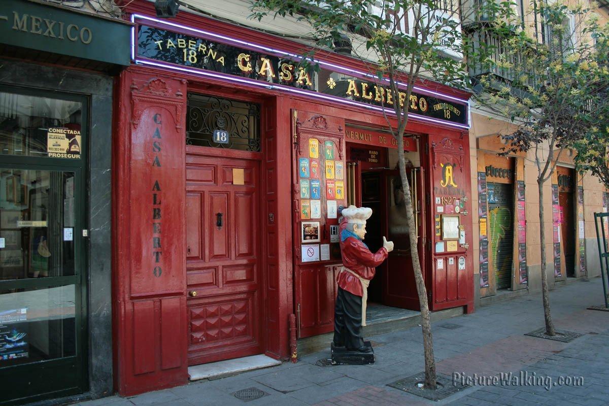 Tasca en Calle Huertas