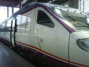 Renfe Avant en la estación de Madrid-Atocha