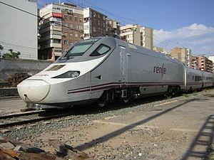 Unidad de Alta Velocidad serie 130 apartado en...