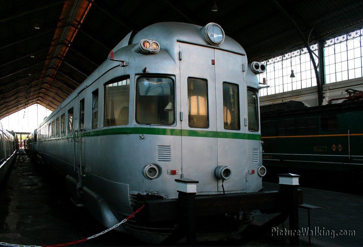 TAF 9522 Railway Museum Madrid